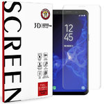 3D Full Tempered Glass Screen Protector for Samsung Galaxy S9 - Clear